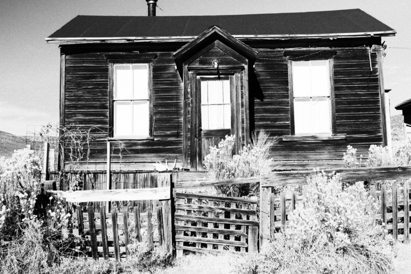 Old house in Bodie