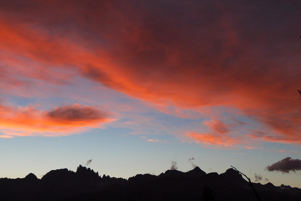 Sunset over Minarets