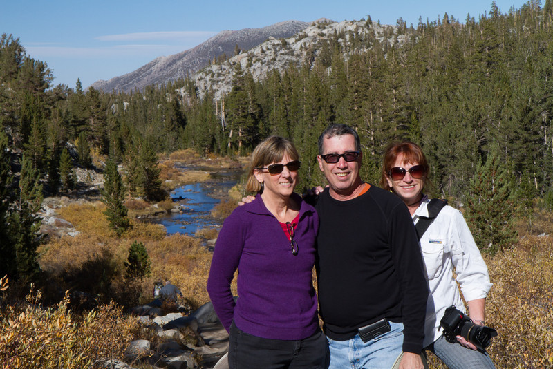 Hiking in the back country near Bishop
