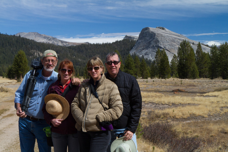 In Tuolemne meadows, Yosemite National Park