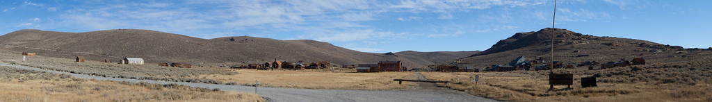 Bodie was a gold rush mining town, and at it's peak in the 1880's had 62 saloons and 10,000 people.