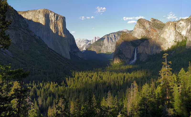 from Tunnel View on Wawona Road