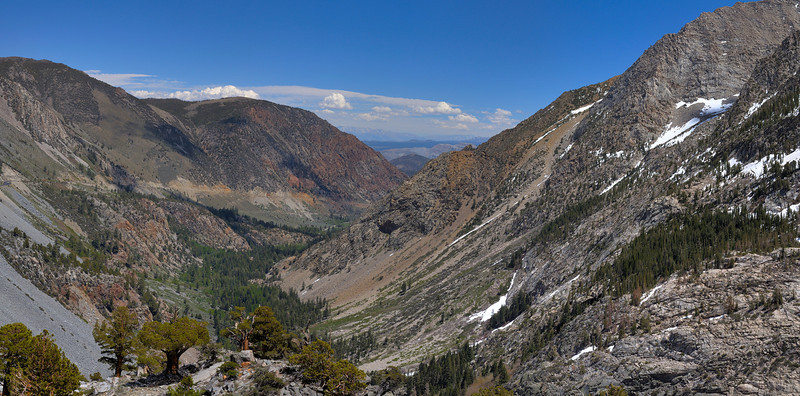 Tioga Road looking east to Nevada