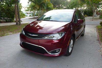 The car we rented. Chrysler Pacifica.