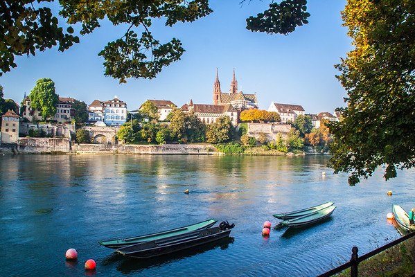 Sights Along the Rhine River