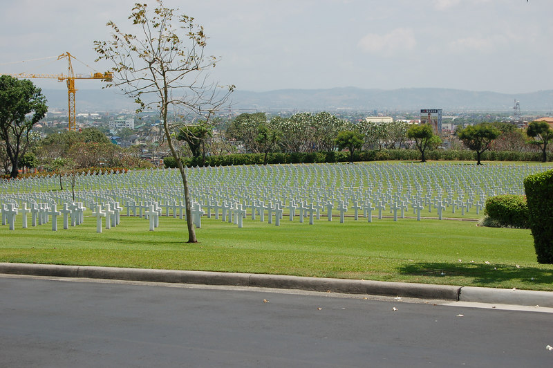 Fort Bonaficio, an American cemetary