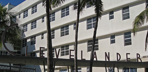 The famous Clevelander Hotel in South Beach - Miami, FL