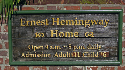 Ernest Hemingway's home - a cool place with LOTS of really cool cats!