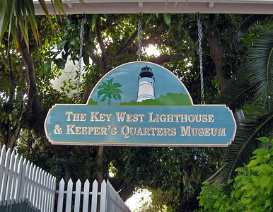 Key West Lighthouse - a beautiful place
