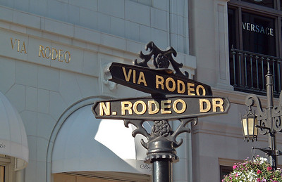Rodeo Drive - where a pair of socks can run you $400