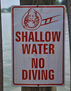 No Diving at Tim's