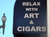 Relax with Art & Cigars