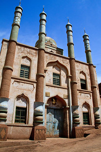 Community mosque, Tuyaq.