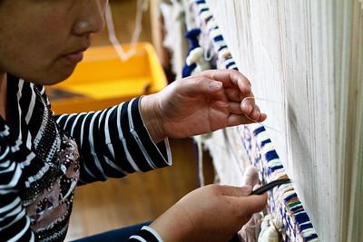 Carpet making, Dunhuang