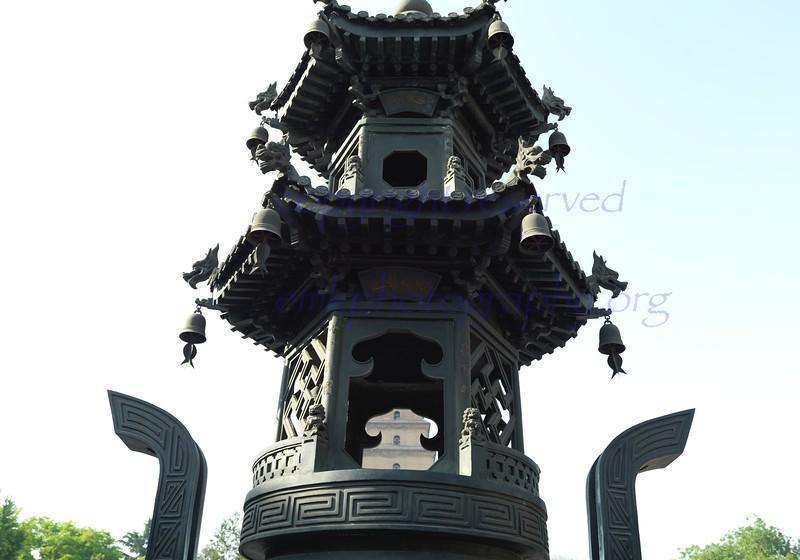 China Xian Terracotta n Goose Pagoda