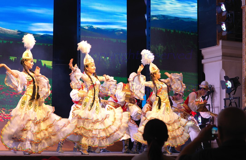 China Urumqi Heavenly Lake n Cultural Show