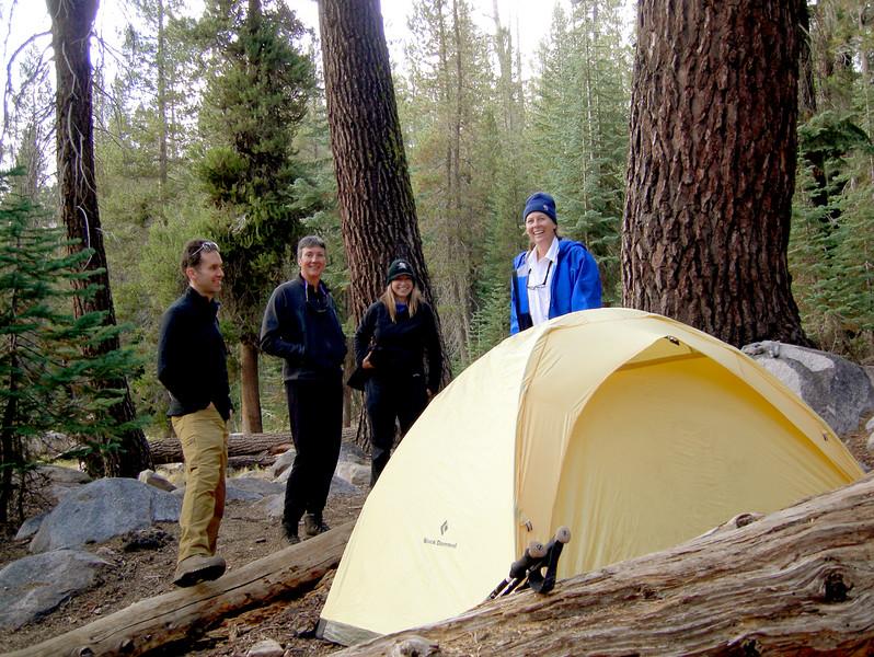 Karen is tent-proud