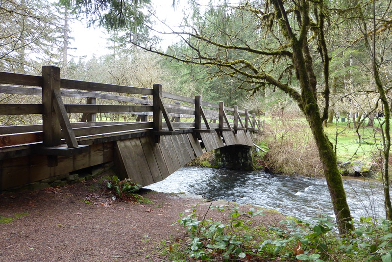 Bridge over South Fork Silver Creek