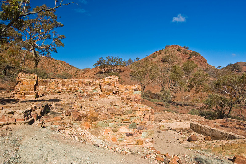 An old mining operation near Arkaroola