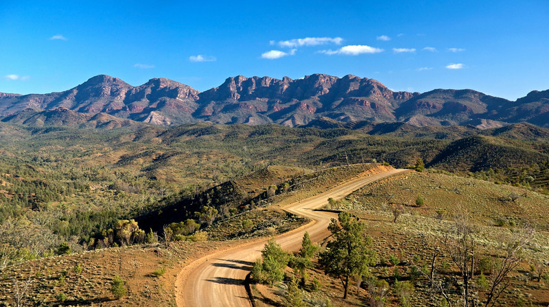 The view from Razorback Lookout, Flinders Ranges