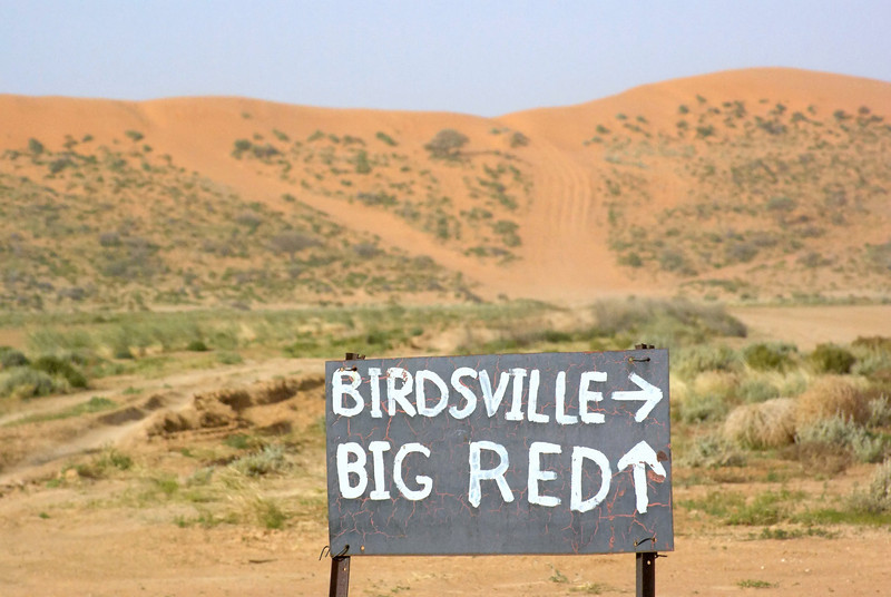 The last dune before Birdsville