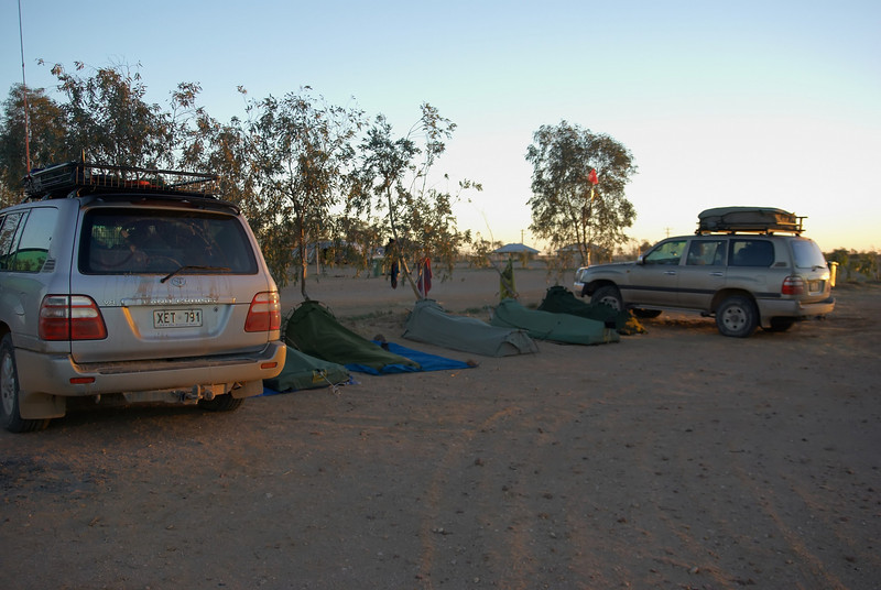 Birdsville Caravan Park .....