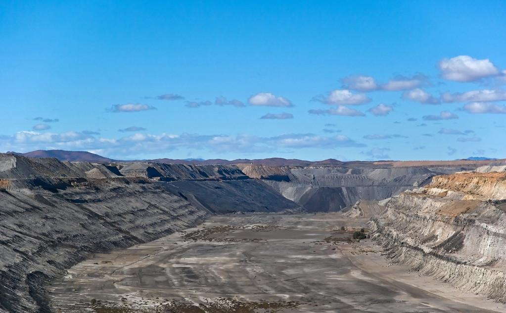 Leigh Creek open cut coal mine