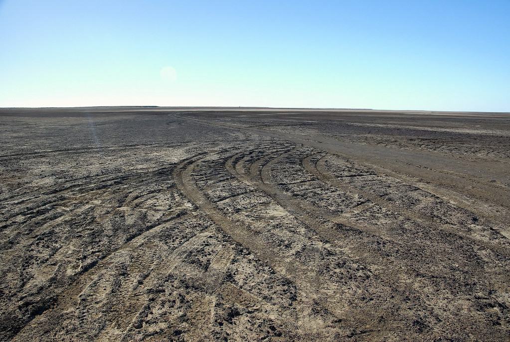 ABC camping ground at Lake Eyre ... we gave it a miss !
