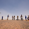 Cyclists reach Birdsville