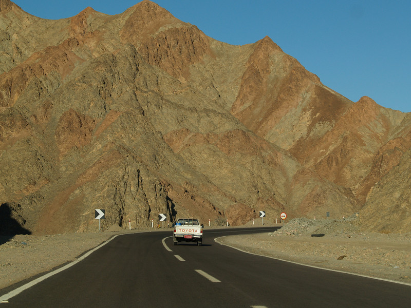 Highway through the Sinai