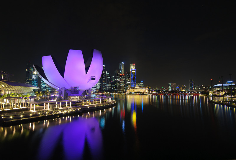 Singapore skyline, Marina Bay VIII