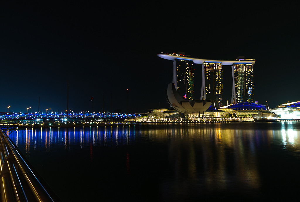 Singapore skyline, Marina Bay Sands Hotel