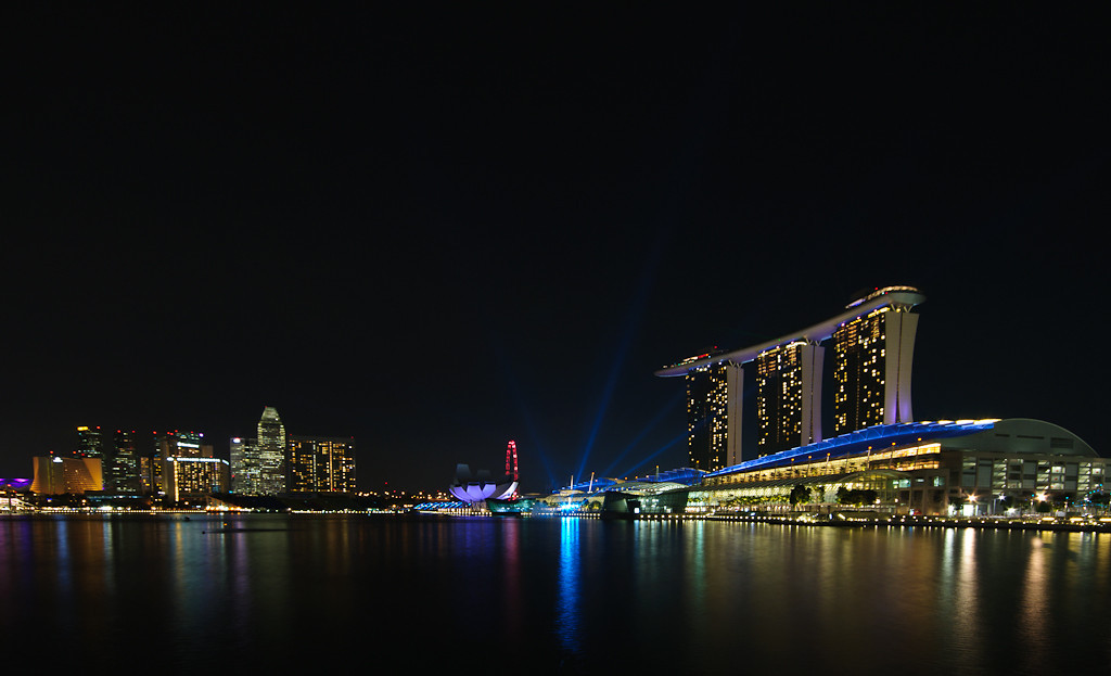 Singapore skyline, Marina Bay II