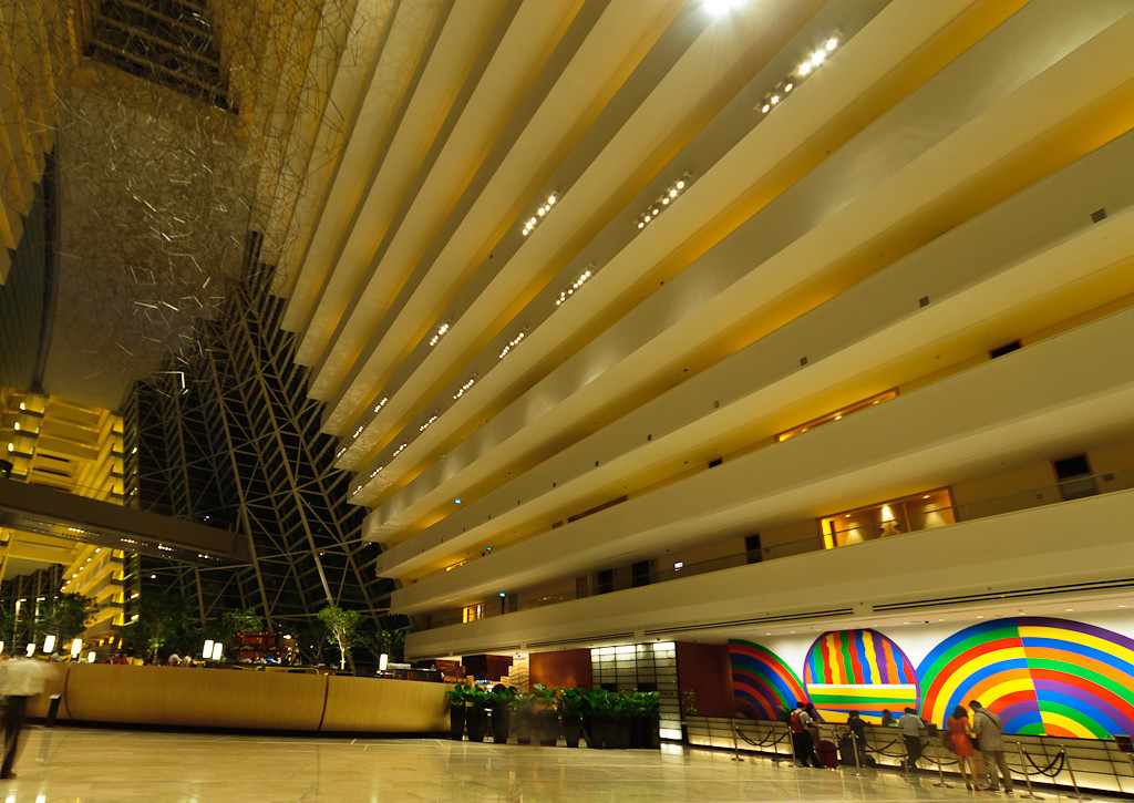 Lobby at Marina Bay Sands Hotel