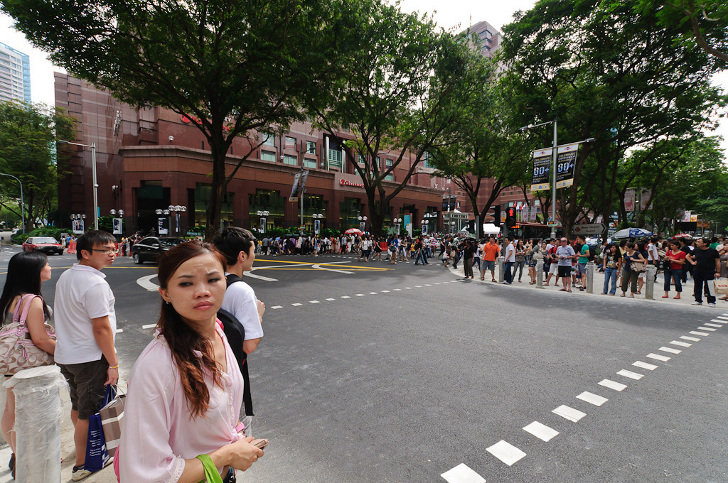 Singapore crossing