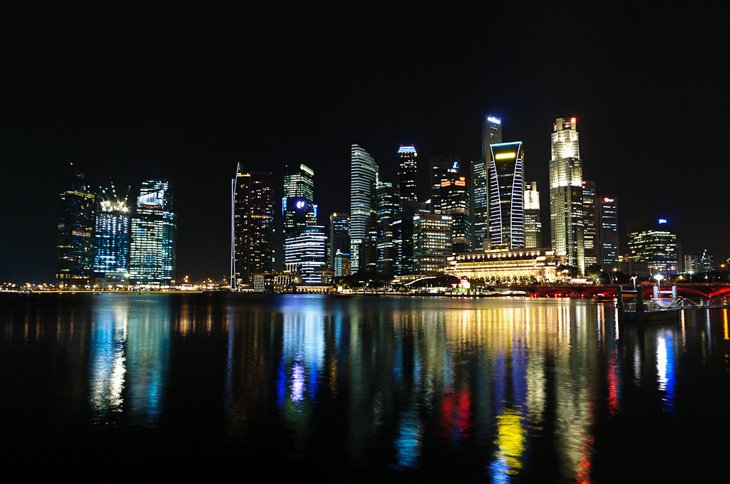 Singapore skyline, Marina Bay III