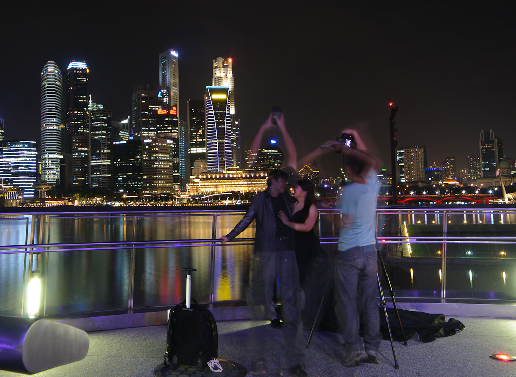 Photoshoot at Marina Bay