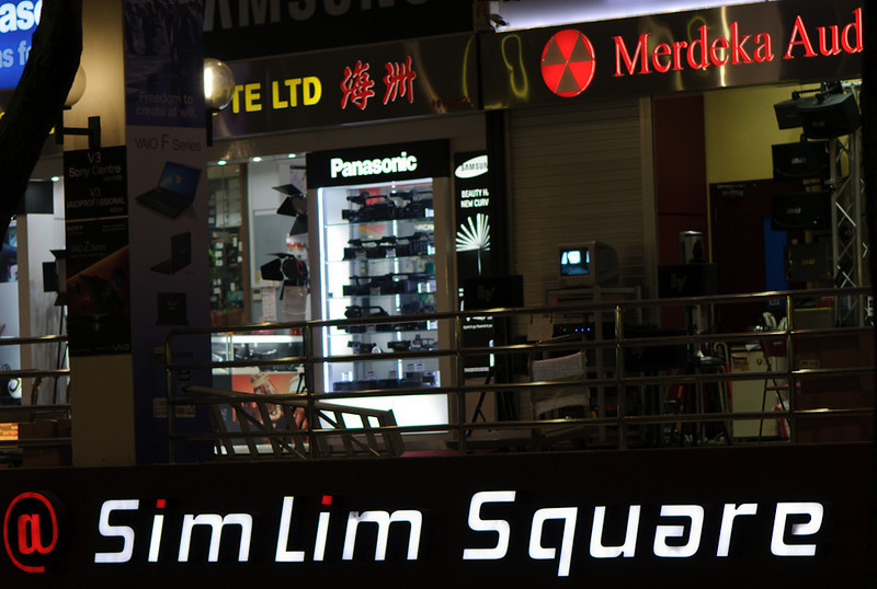 SimLim Square, heaven for electronic and photo maniacs