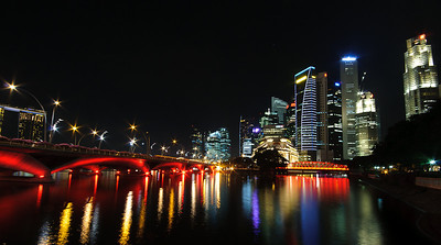 Singapore skyline, Marina Bay V