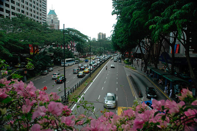 Streets of Singapore. Feb'2005.