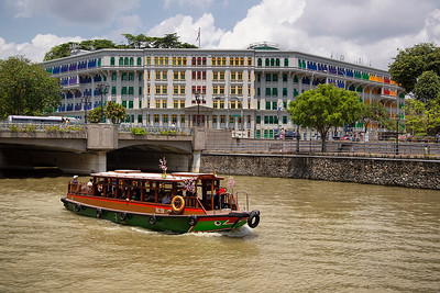 MIA Building on Singapore River