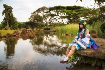 Model at Japanese Gardens