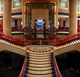 Inside Fullerton Hotel