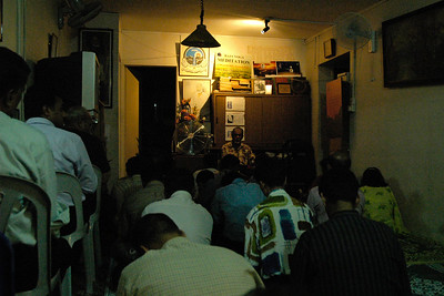 Satsang at Bro Bala's house at McNair Road, Singapore. June' 2004.