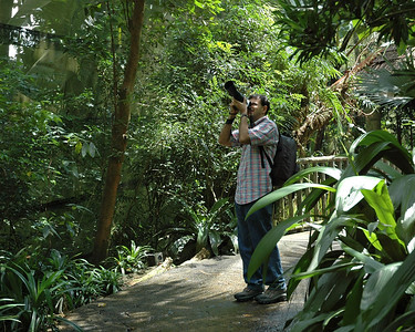 That's Varun shooting in Singapore Zoo with Suchit. May 2004.