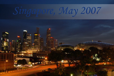Singapore (Chinese: ???; pinyin: Xinjiapo; Malay: Singapura; Tamil: ???????????, Cingkappur), (Republic of Singapore), is an island city-state located at the southern tip of the Malay Peninsula, lying 137 kilometres (85 mi) north of the equator, south of the Malaysian state of Johor and north of Indonesia's Riau Islands. At 710.2 km2 (274.2 sq mi), Singapore, a microstate and the smallest nation in Southeast Asia, is by orders of magnitude larger than Monaco, San Marino, Andorra and Vatican City, the only other surviving sovereign city-states. The population of Singapore is approximately 4.86 million. Since independence, Singapore's standard of living has risen dramatically. Foreign direct investment and a state-led drive to industrialization have created a modern economy focused on industry, education and urban planning. edit Edit gallery description: Visit to Singapore in May 2007. Went to The PC Show 2007 and also a Book Exhibition. Also went to the Singapore Zoo and got to see the celebrations of Vesak Festival (Buddhist) happening around that time. Singapore (Chinese: ???; pinyin: Xinjiapo; Malay: Singapura; Tamil: ???????????, Cingkappur), (Republic of Singapore), is an island city-state located at the southern tip of the Malay Peninsula, lying 137 kilometres (85 mi) north of the equator, south of the Malaysian state of Johor and north of Indonesia's Riau Islands. At 710.2 km2 (274.2 sq mi), Singapore, a microstate and the smallest nation in Southeast Asia, is by orders of magnitude larger than Monaco, San Marino, Andorra and Vatican City, the only other surviving sovereign city-states. The population of Singapore is approximately 4.86 million. Since independence, Singapore's standard of living has risen dramatically. Foreign direct investment and a state-led drive to industrialization have created a modern economy focused on industry, education and urban planning.  Evening view of The  Esplanade with the CBD area at the back.  The Esplanade is a waterfront lo