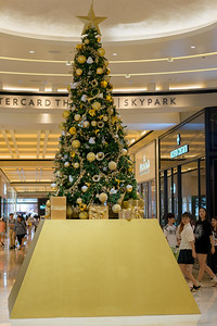 Christmas Tree at Marina Bay Sands which is an integrated resort fronting Marina Bay in Singapore. At its opening in 2010, it was billed as the world's most expensive standalone casino property at S$8 billion, including the land cost. Singapore