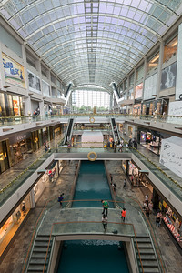 The Shoppes at The Marina Bay Sands which is an integrated resort fronting Marina Bay in Singapore.