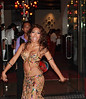 Promoting a Persian restaurant by dancing in front of the entrance.