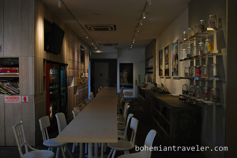 """Inside Bunc Hostel in LIttle India, Singapore.  For more information about Bunc Hostel in Singapore, visit: <a href=""""http://bunchostel.com/"""" rel=""""nofollow"""">bunchostel.com/</a>  or see my best 4 Day Itinerary in Singapore: <a href=""""http://bohemiantraveler.com/2013/11/four-days-singapore/"""" rel=""""nofollow"""">bohemiantraveler.com/2013/11/four-days-singapore/</a>"""